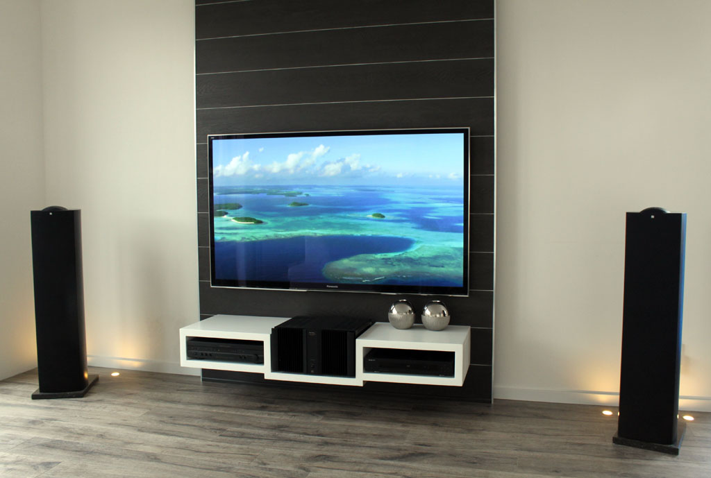 wand maken voor tv. Black Bedroom Furniture Sets. Home Design Ideas