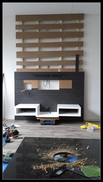 klein tv plankje
