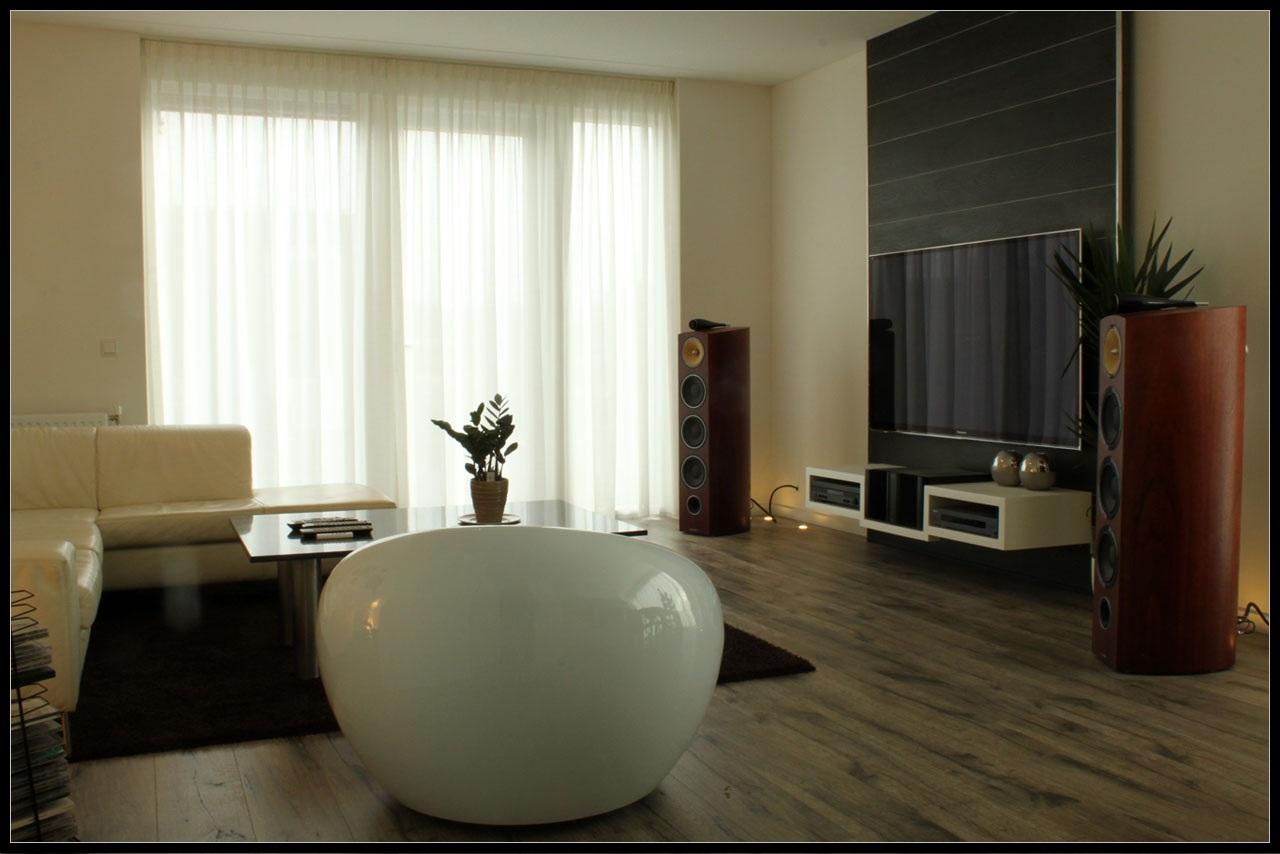tweedehands tweepersoons slaapkamer: steigerhout bed met hoofdbord, Deco ideeën